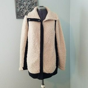 Anthro Sparrow Sweater Coat